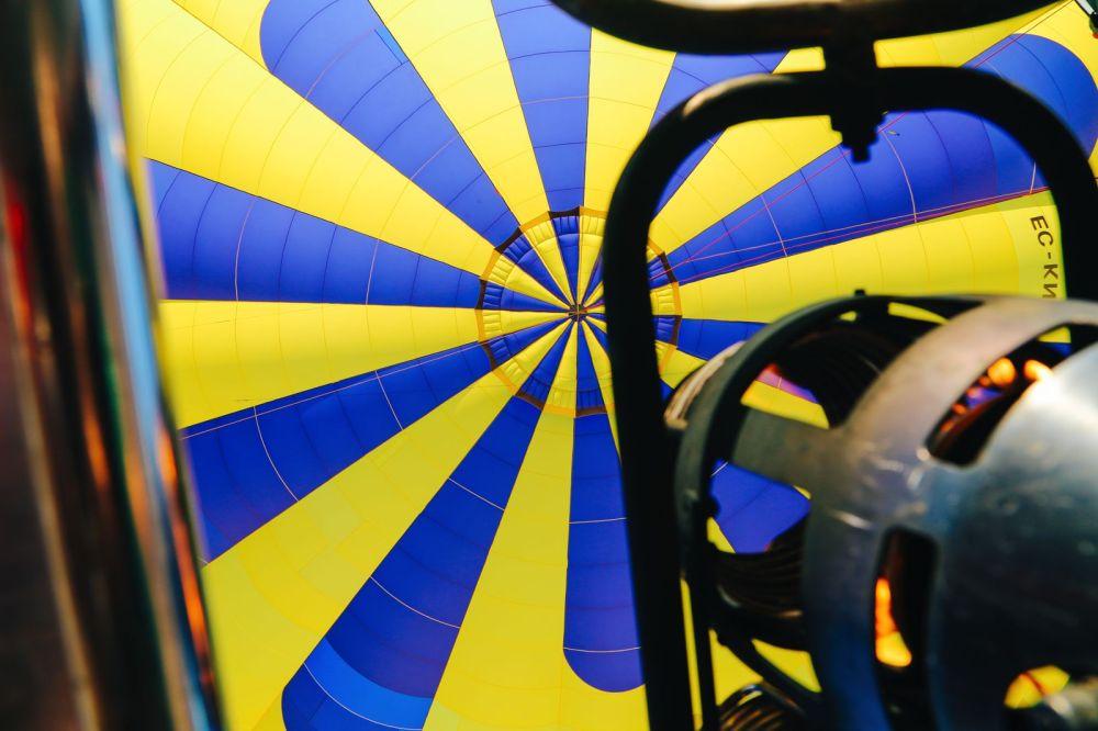 Hot Air Balloon Sunrise... In Sierra De Mariola, Valencia (35)