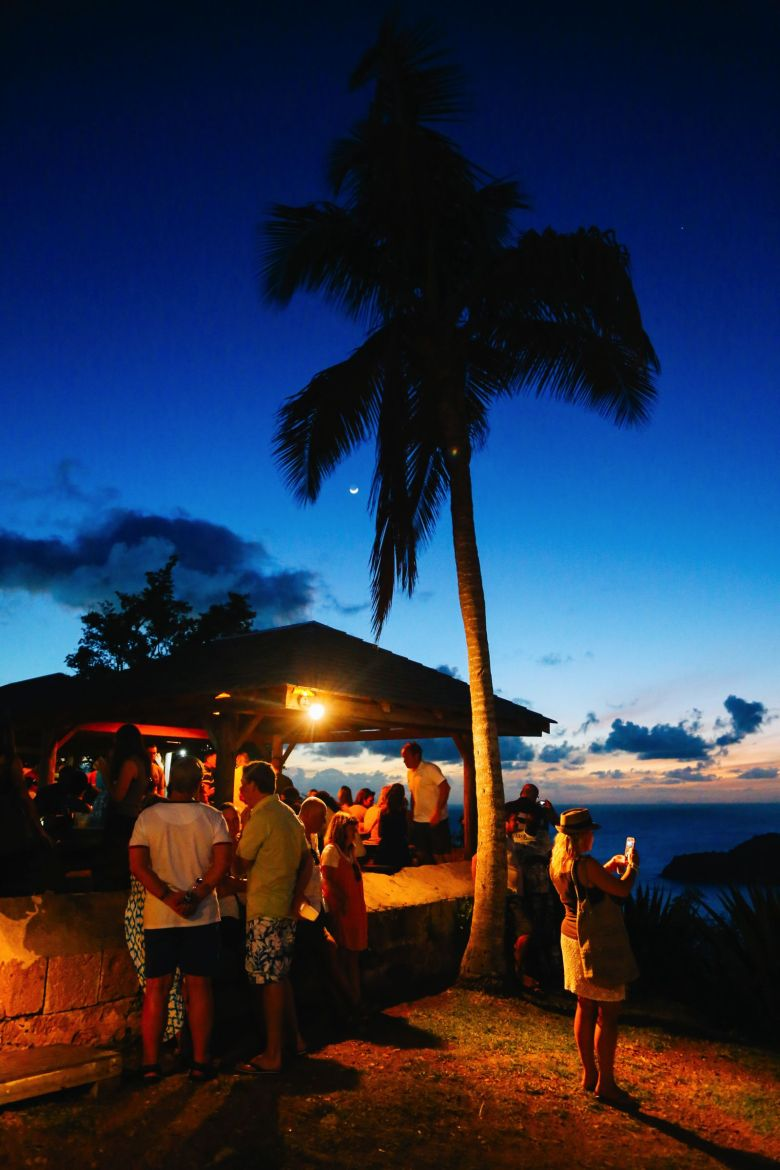 The Party (And Stunning Sunset) At Shirley Heights, Antigua (18)