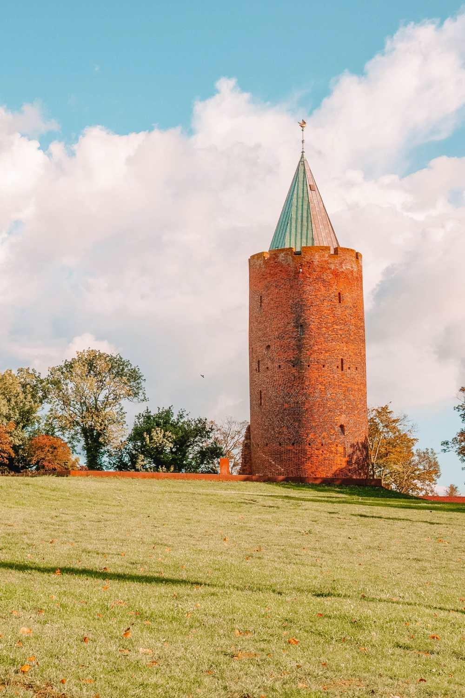 Замок Вордингборг. Замки Дании.