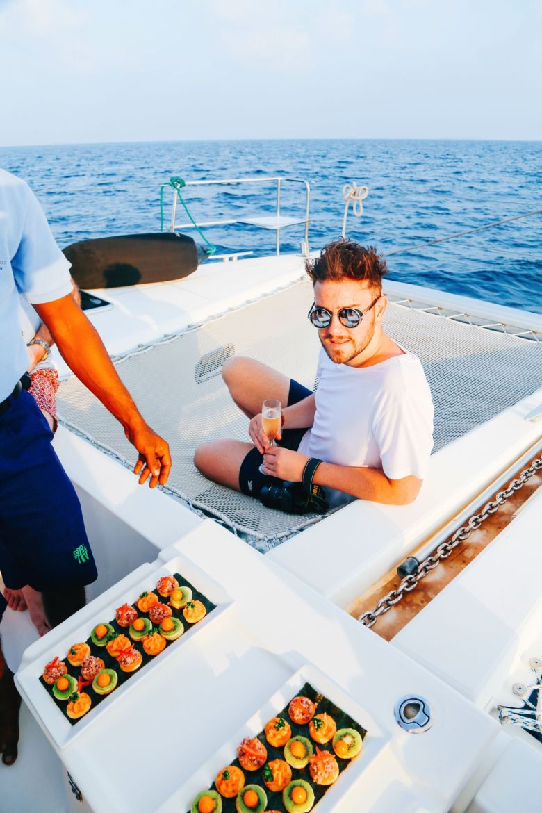 Sunset Cruising In The Maldives (6)