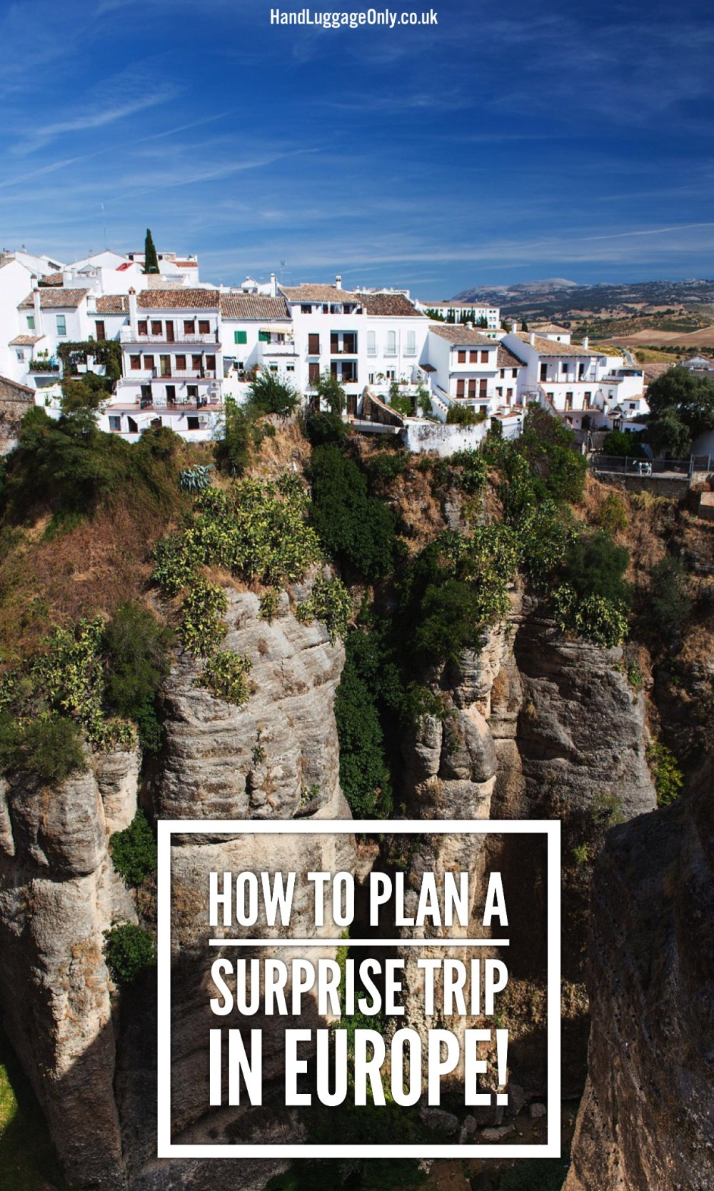 Plan A Surprise Trip In Europe