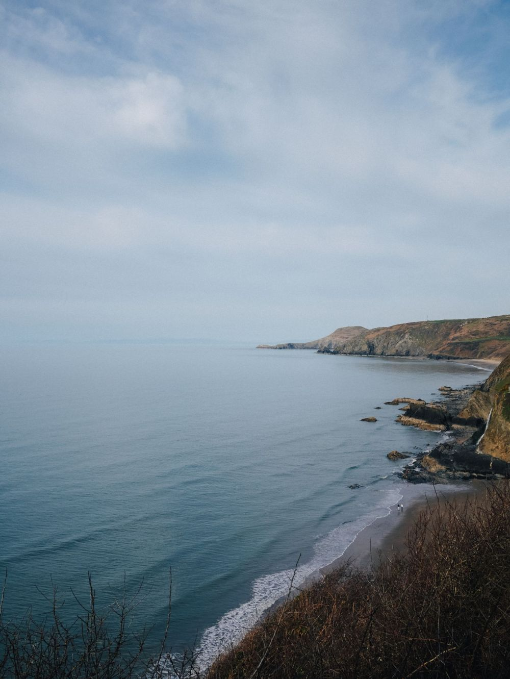 Exploring The UK's Dramatic Coastline... In Wales (33)