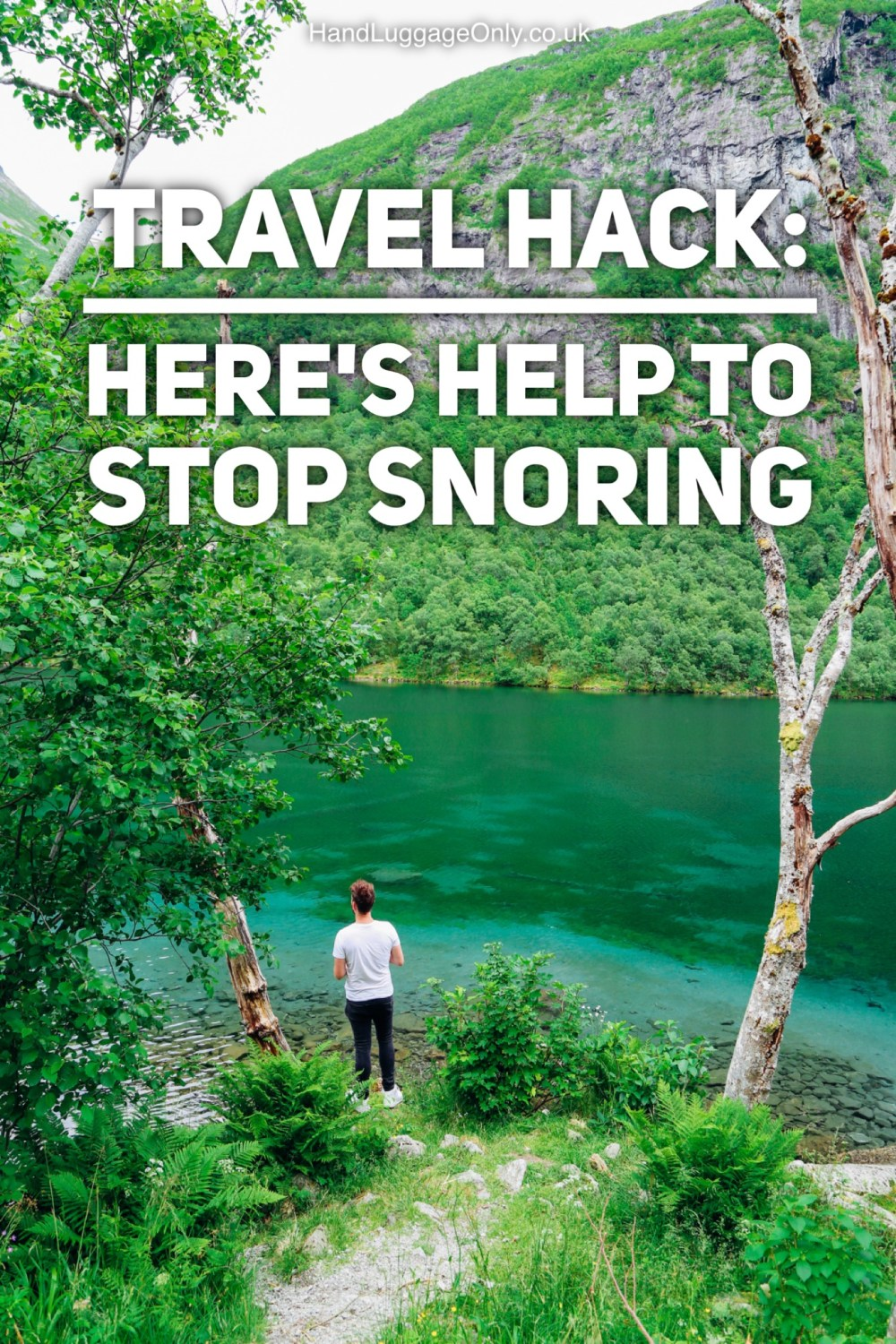 TRAVEL HACK: HERE'S HELP TO STOP SNORING!