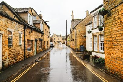 Rainy Days In The English Countryside... The Wood Norton, Bourton-On-The-Water, Broadway, Cotswolds, Stow-on-the-wold (8)
