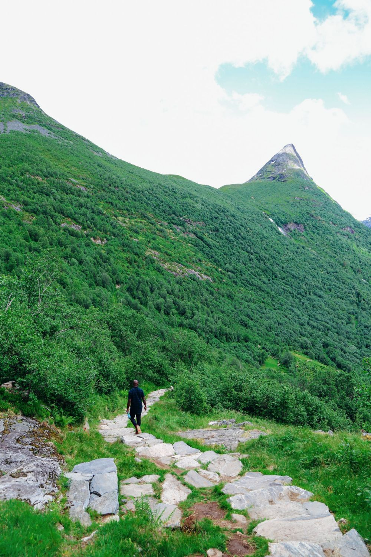 Exploring Storseterfossen Waterfall - A Waterfall In Norway You Can Walk Behind! (29)