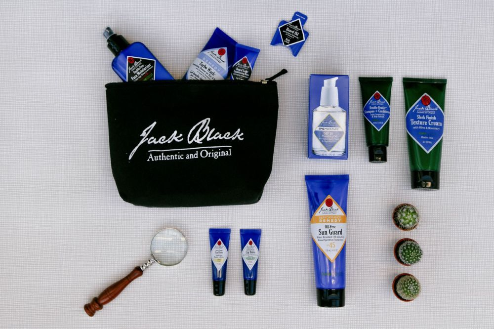 35 Travel Essentials You Need For Every Trip Jack Black's Cosmetics (11)