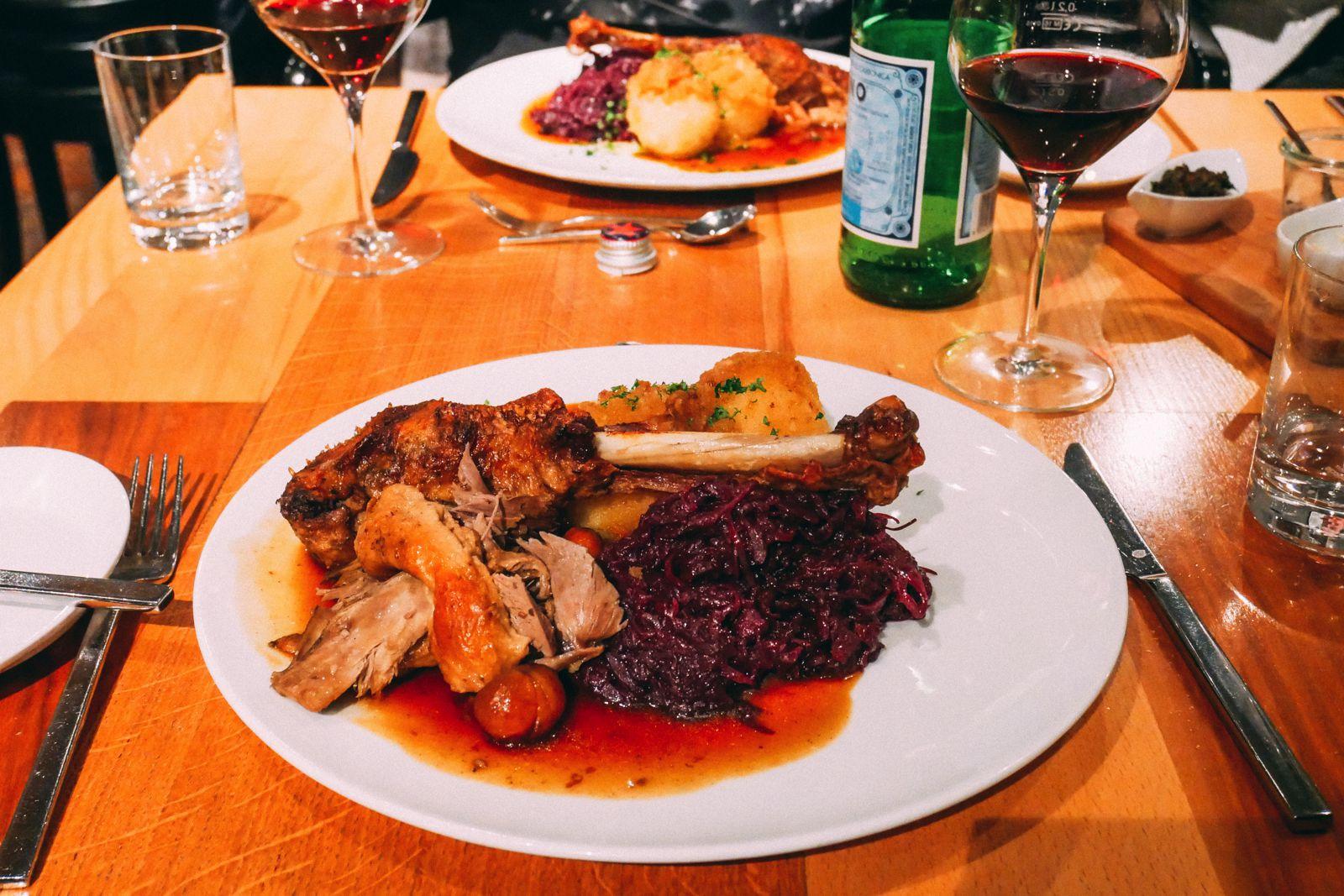 german goose for christmas dinner