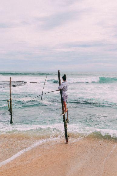 The Ancient Tradition Of Stilt Fishing… In Sri Lanka (27)