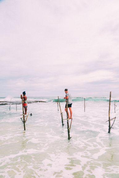 The Ancient Tradition Of Stilt Fishing… In Sri Lanka (32)