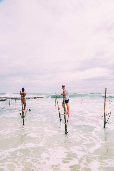 The Ancient Tradition Of Stilt Fishing… In Sri Lanka (32)