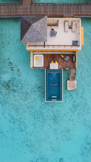 The View From Above... At The Angsana Velavaru Maldives (16)