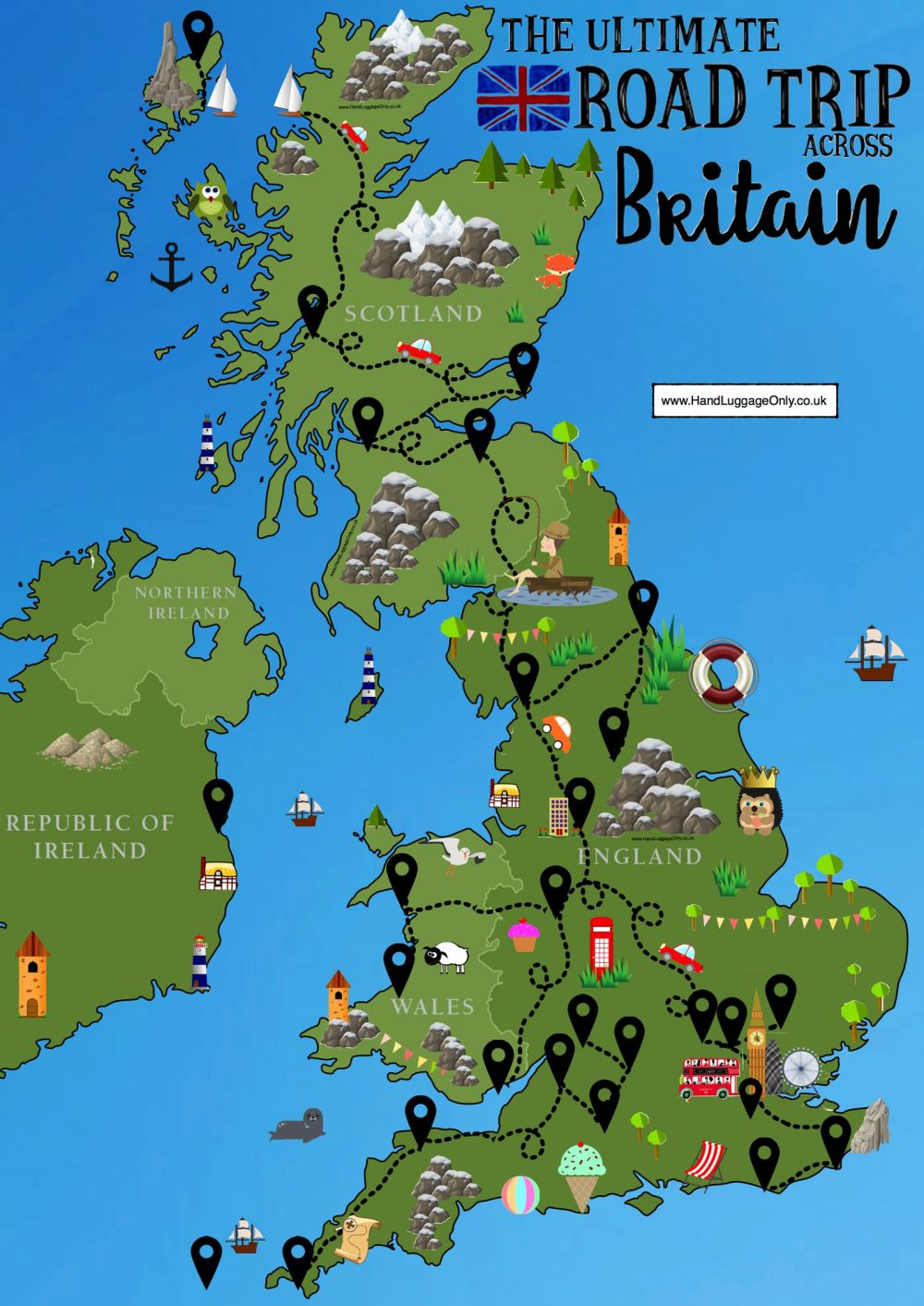 26 Best Places In Britain To Visit - Hand Luggage Only - Travel, Food &  Photography Blog