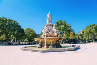 The Beautiful Roman City Of Nimes... In France (19)