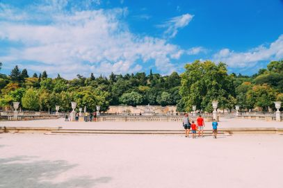 The Beautiful Roman City Of Nimes... In France (94)