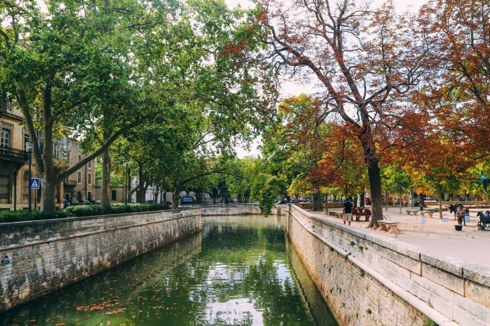 The Beautiful Roman City Of Nimes... In France (2)