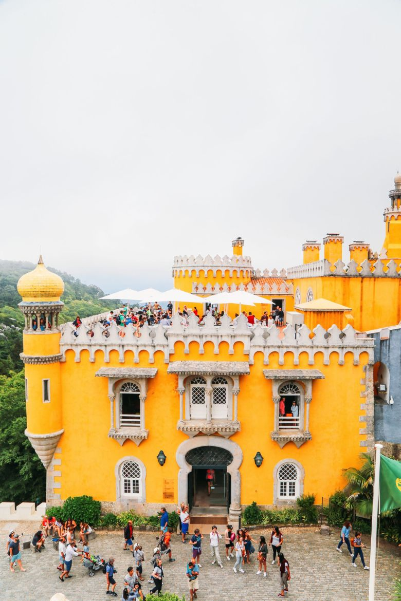 The Beautiful Pena Palace Of Sintra, Portugal (13)