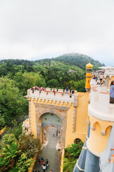 The Beautiful Pena Palace Of Sintra, Portugal (21)