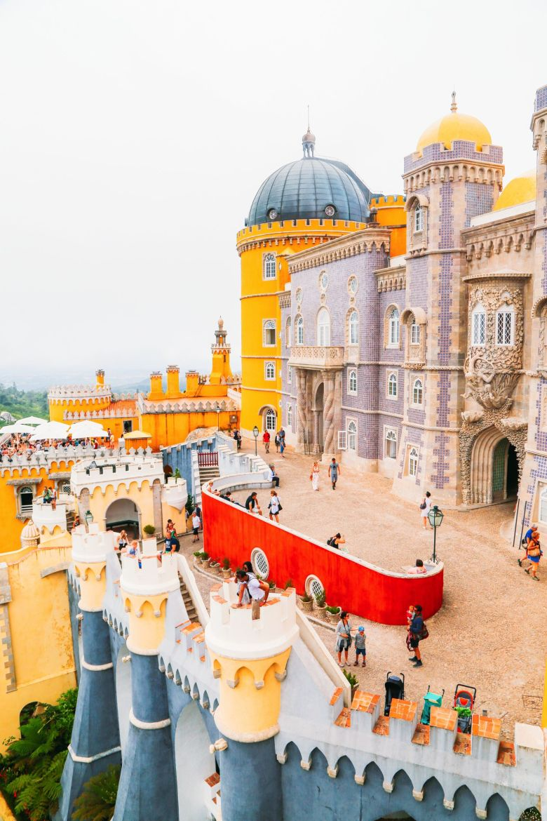 The Beautiful Pena Palace Of Sintra, Portugal (58)