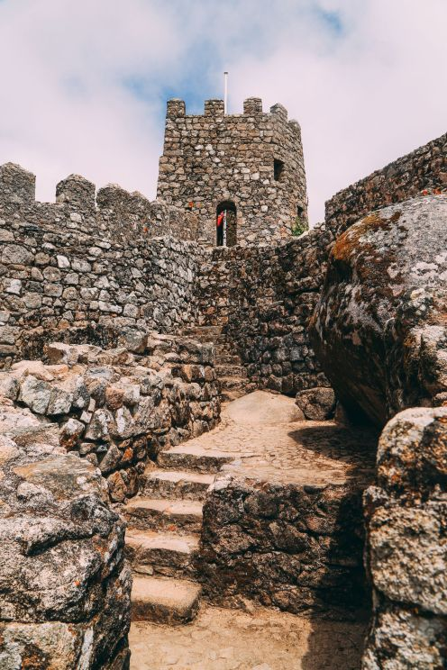 The Moorish Castle, Palace of Sintra And Pena Park – 3 Beautiful Places To See In Sintra, Portugal (4)