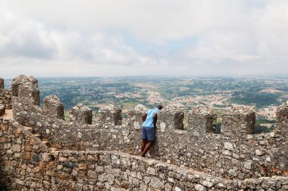 The Moorish Castle, Palace of Sintra And Pena Park – 3 Beautiful Places To See In Sintra, Portugal (7)