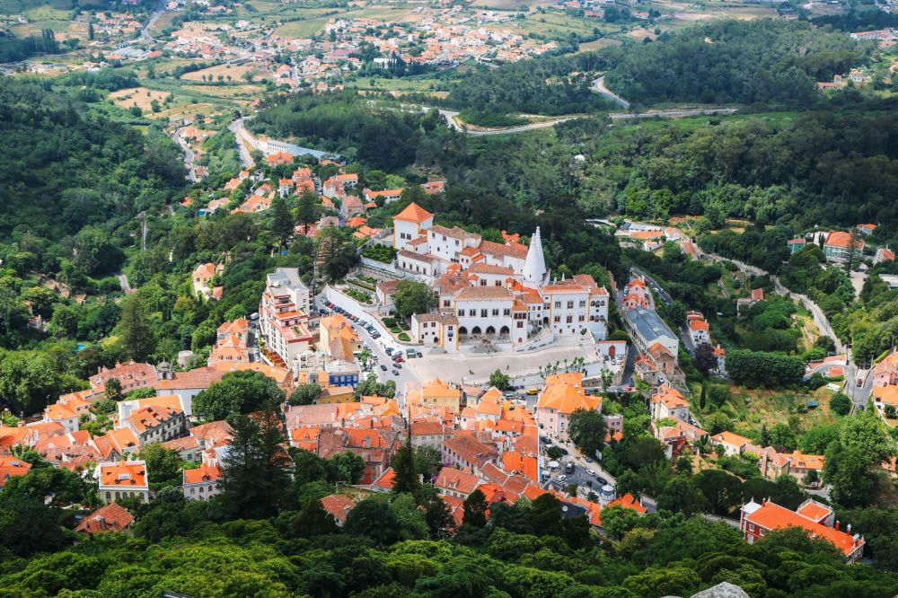 The Moorish Castle, Palace of Sintra And Pena Park – 3 Beautiful Places To See In Sintra, Portugal (9)