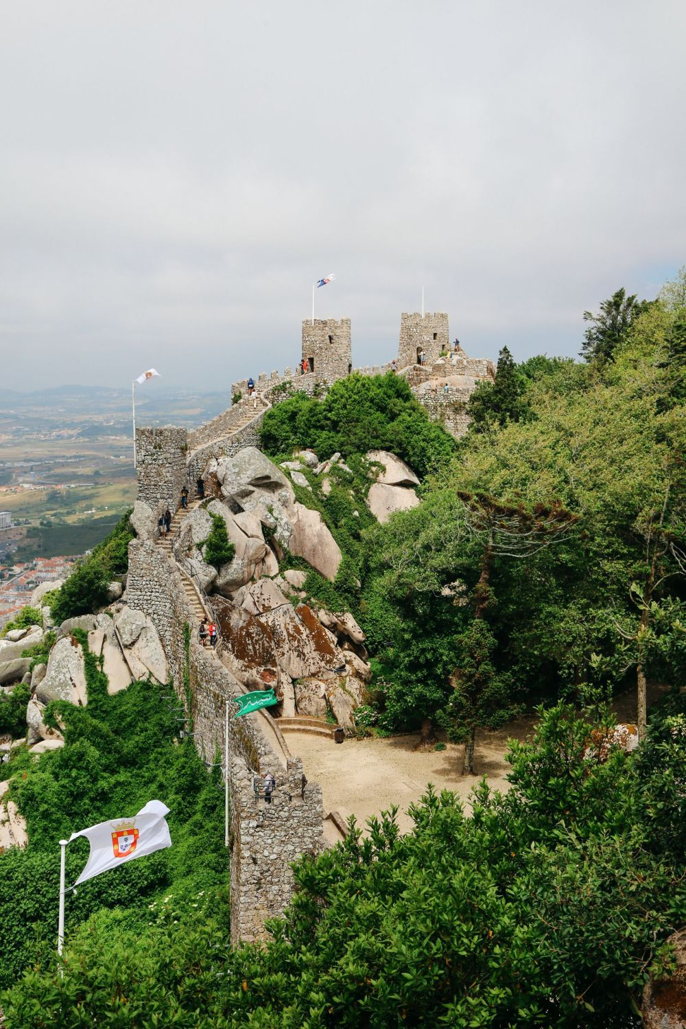 The Moorish Castle, Palace of Sintra And Pena Park – 3 Beautiful Places To See In Sintra, Portugal (14)