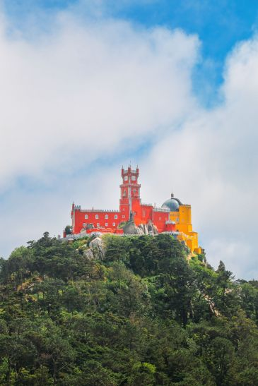 The Moorish Castle, Palace of Sintra And Pena Park – 3 Beautiful Places To See In Sintra, Portugal (17)