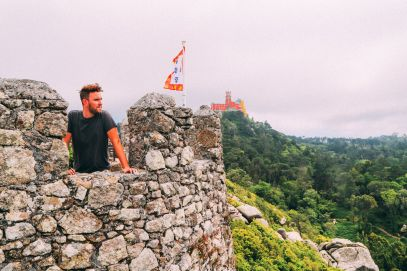 The Moorish Castle, Palace of Sintra And Pena Park – 3 Beautiful Places To See In Sintra, Portugal (19)