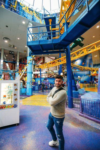The World's Tallest Indoor Roller Coaster... In Edmonton, Canada (32)