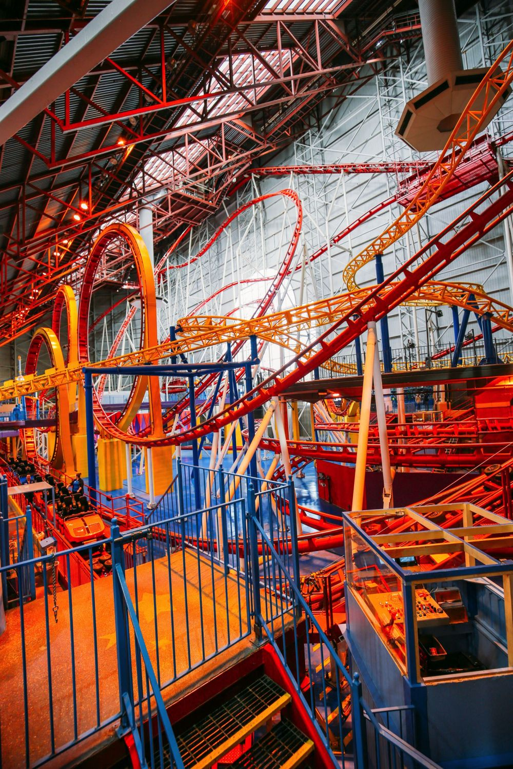 The World's Tallest Indoor Roller Coaster... In Edmonton, Canada (33)