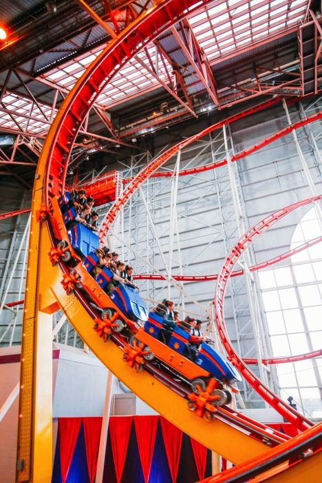 The World's Tallest Indoor Roller Coaster... In Edmonton, Canada (37)
