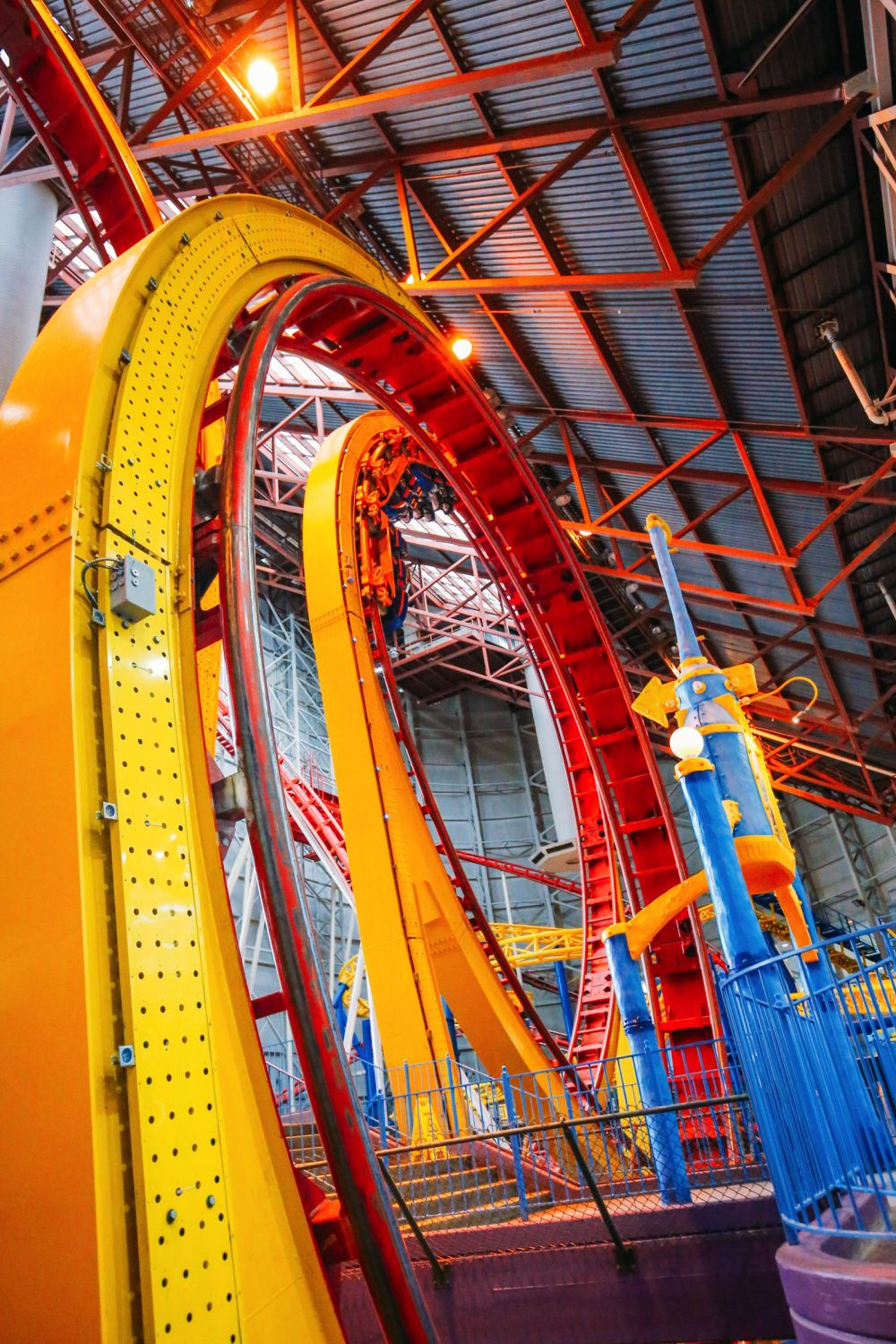 The World's Tallest Indoor Roller Coaster... In Edmonton, Canada (38)