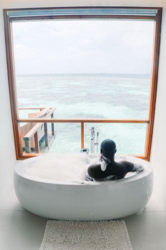 Swimming With Wild Turtles And Those Amazing Island Colours... At Kandolhu Island, Maldives (24)