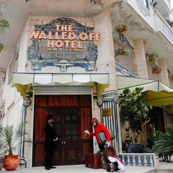 Here's How To Visit Banksy New And Unique Hotel, The Walled Off Hotel! (2)