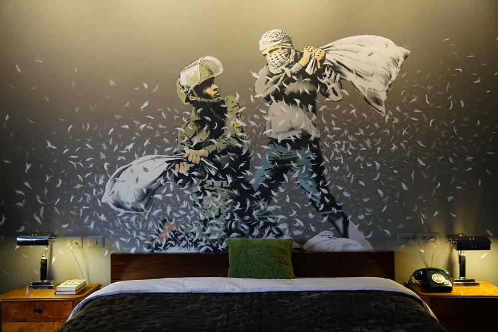 Here's How To Visit Banksy New And Unique Hotel, The Walled Off Hotel! (19)