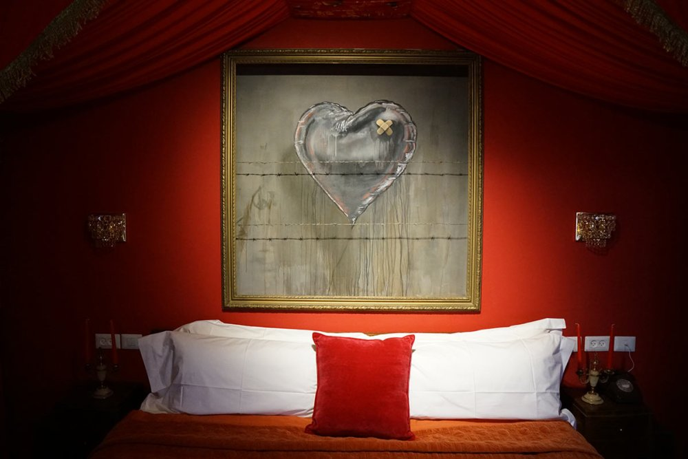 Here's How To Visit Banksy New And Unique Hotel, The Walled Off Hotel! (27)