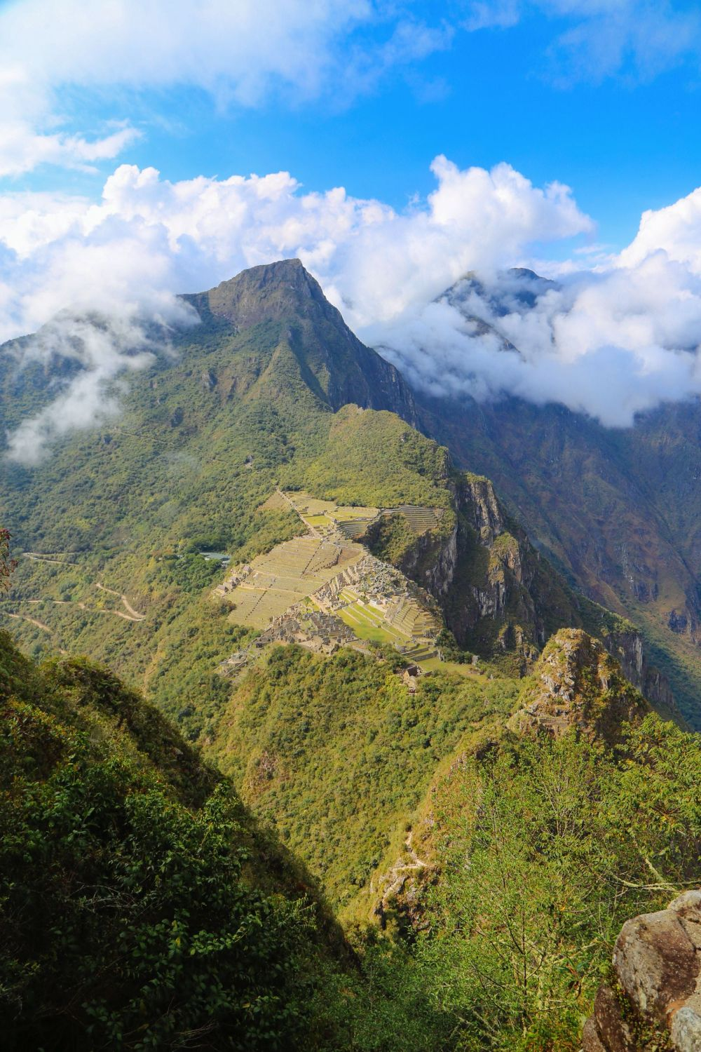 This Is The Most Unique View Of Machu Picchu – At The Top Of Huayna Picchu Mountain (11)