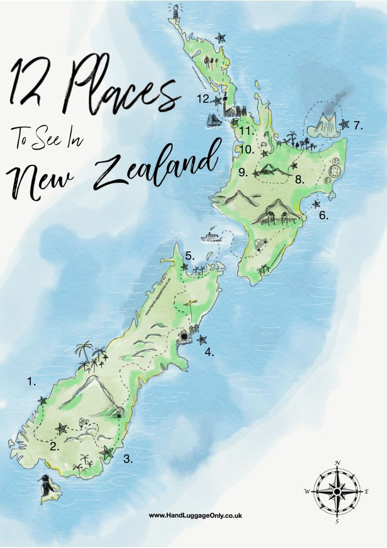 12 Places You Need to Visit on a Trip Across New Zealand
