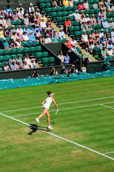 A DAY IN WIMBLEDON... || Watching Andy Murray, Rafael Nadal and Johanna Konta's Tennis Matches (11)