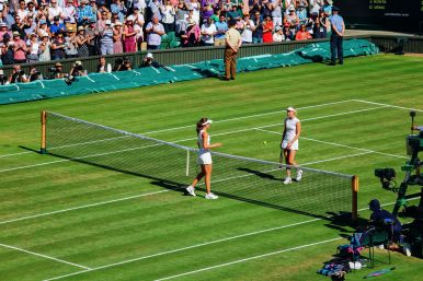 A DAY IN WIMBLEDON... || Watching Andy Murray, Rafael Nadal and Johanna Konta's Tennis Matches (14)