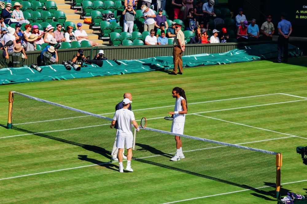 A DAY IN WIMBLEDON... || Watching Andy Murray, Rafael Nadal and Johanna Konta's Tennis Matches (16)