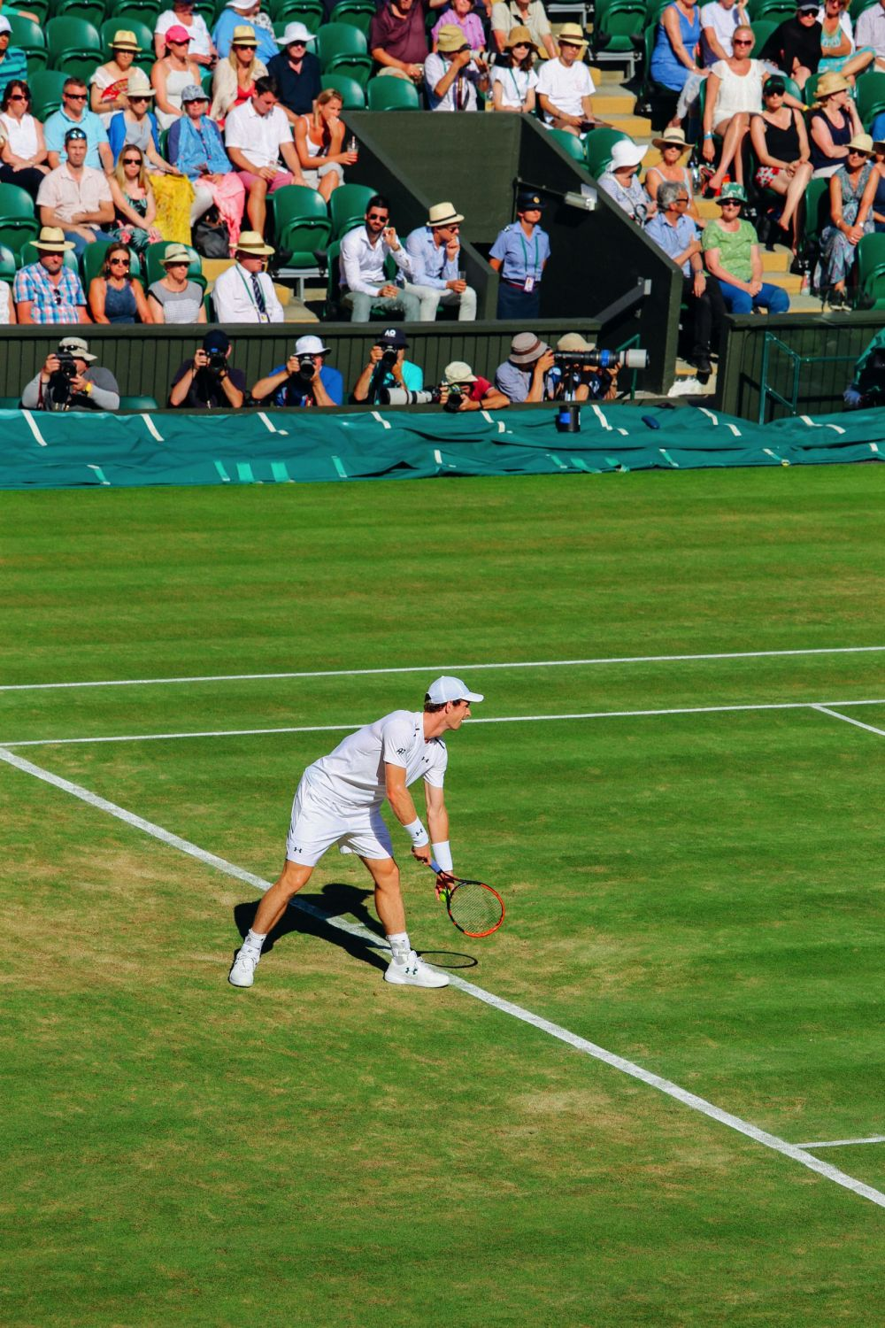A DAY IN WIMBLEDON... || Watching Andy Murray, Rafael Nadal and Johanna Konta's Tennis Matches (23)