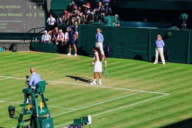 A DAY IN WIMBLEDON... || Watching Andy Murray, Rafael Nadal and Johanna Konta's Tennis Matches (25)