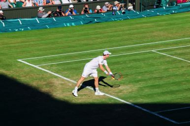 A DAY IN WIMBLEDON... || Watching Andy Murray, Rafael Nadal and Johanna Konta's Tennis Matches (26)