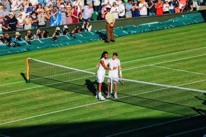 A DAY IN WIMBLEDON... || Watching Andy Murray, Rafael Nadal and Johanna Konta's Tennis Matches (30)