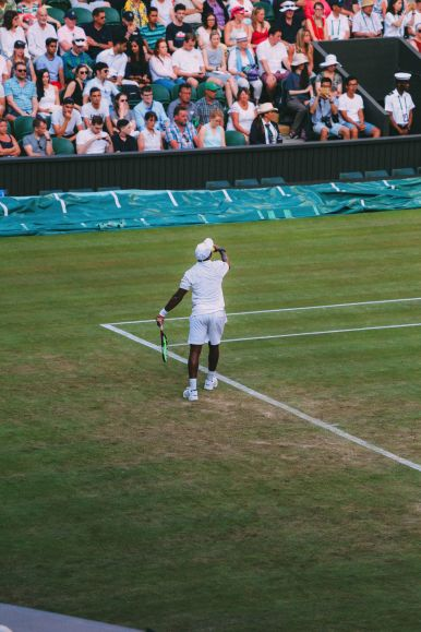 A DAY IN WIMBLEDON... || Watching Andy Murray, Rafael Nadal and Johanna Konta's Tennis Matches (34)