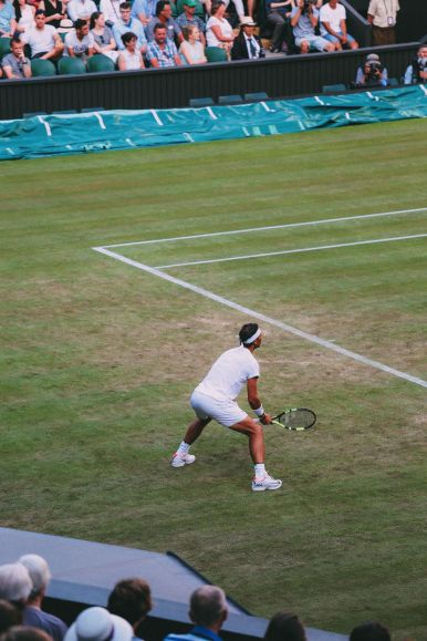 A DAY IN WIMBLEDON... || Watching Andy Murray, Rafael Nadal and Johanna Konta's Tennis Matches (35)