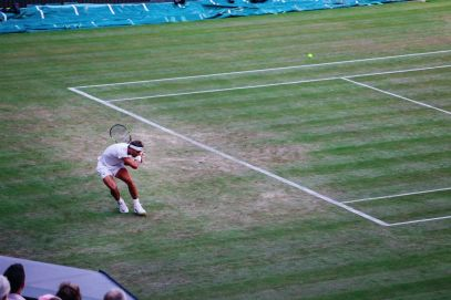 A DAY IN WIMBLEDON... || Watching Andy Murray, Rafael Nadal and Johanna Konta's Tennis Matches (40)