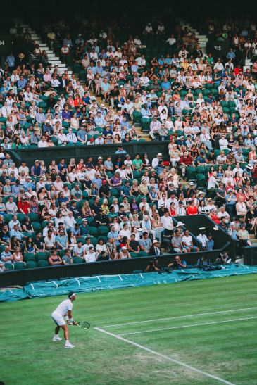 A DAY IN WIMBLEDON... || Watching Andy Murray, Rafael Nadal and Johanna Konta's Tennis Matches (41)