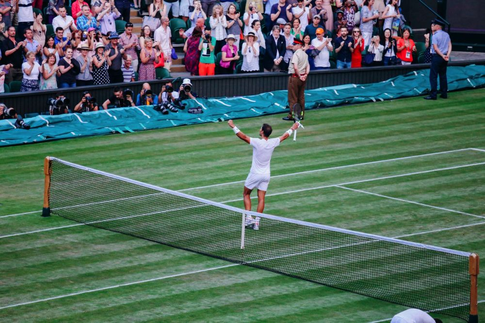 A DAY IN WIMBLEDON... || Watching Andy Murray, Rafael Nadal and Johanna Konta's Tennis Matches (44)
